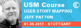 User Story Mapping Workshop mit Jeff Patton