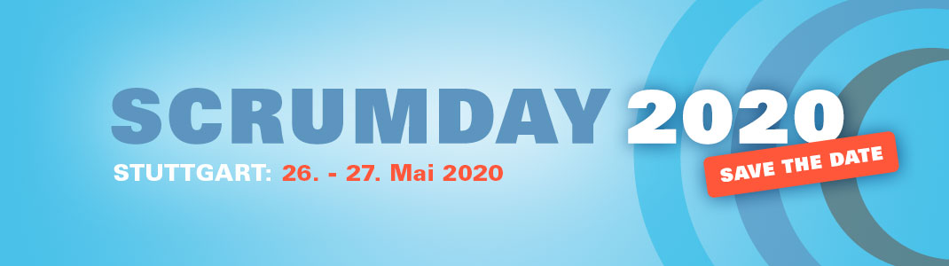 Scrum-Day 2020 - Save the Date