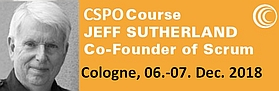Certified Scrum Product Owner Seminar mit dem Erfinder von Scrum Jeff Sutherland